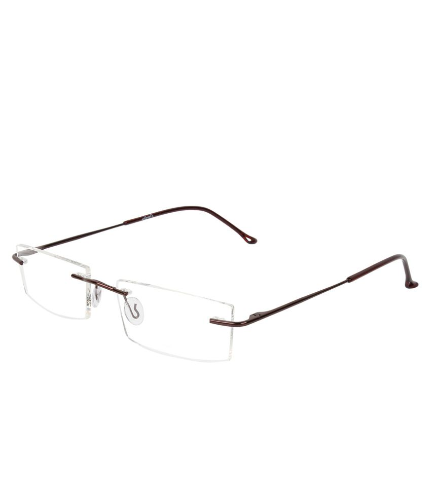 b93e44d4193 Zyaden RIMLESS-60 Men Rectangle Eyeglass - Buy Zyaden RIMLESS-60 Men  Rectangle Eyeglass Online at Low Price - Snapdeal
