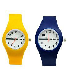 Luba Multicolour Analog Watch - Pack of 2