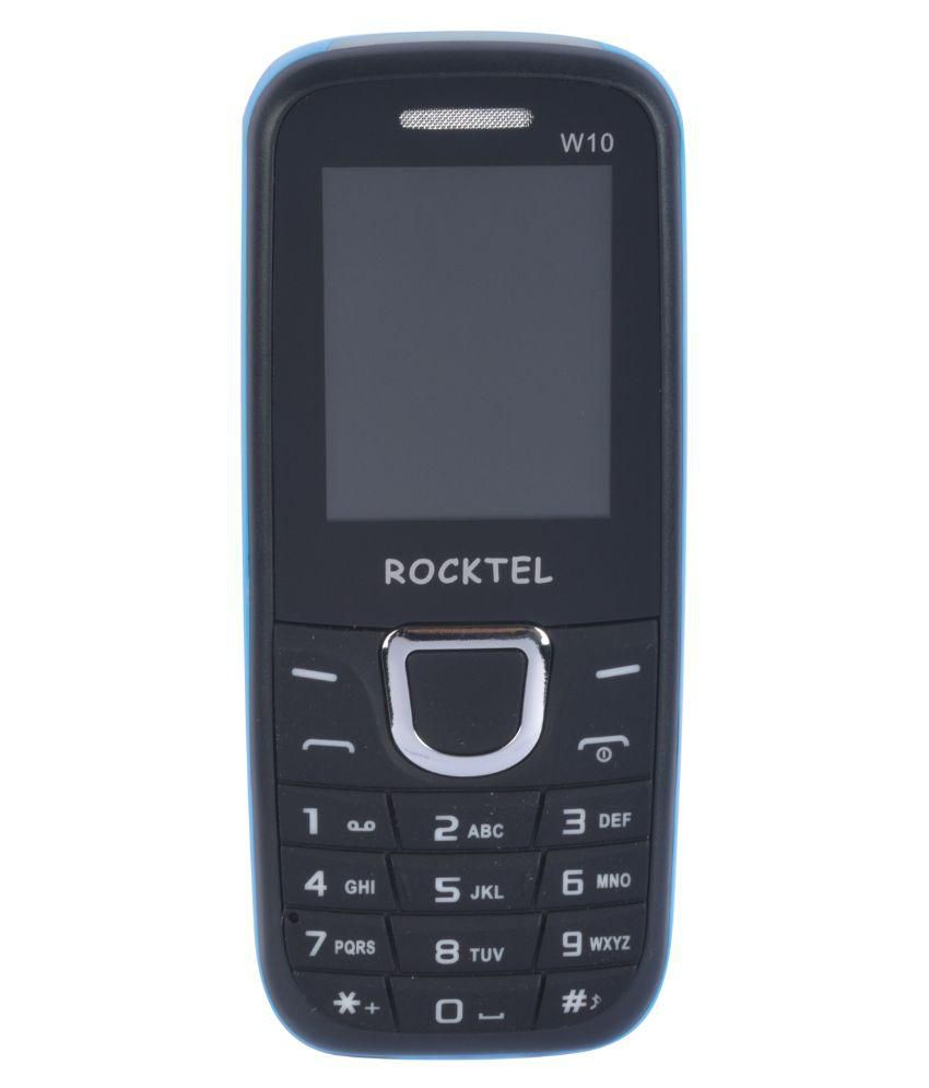 Rocktel SRKTELW10M0159BLK 4GB and Below Black