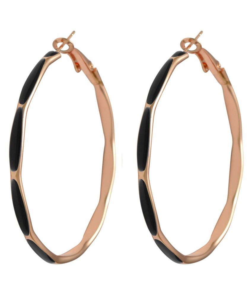 Sarah Black Earrings