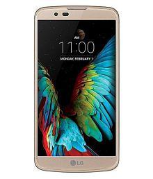 LG K420DS 16GB Black Gold