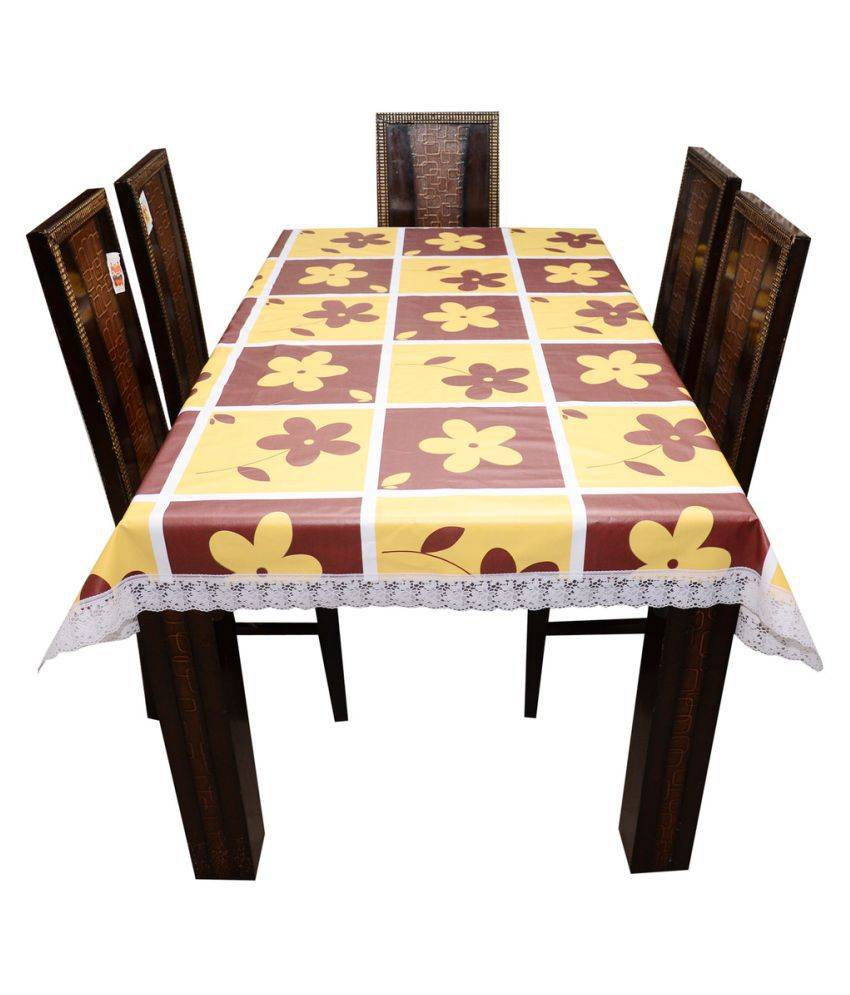 Décor Club 6 Seater PVC Single Table Covers