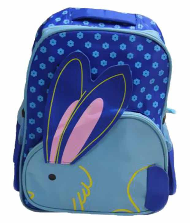 Gamme Blue Polyester Kids Backpack