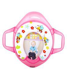 Mee Mee Pink Cushioned Potty Seat with Support Handles