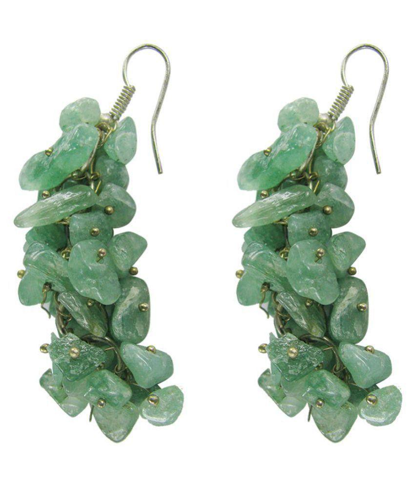 Collana Green Hanging Earrings
