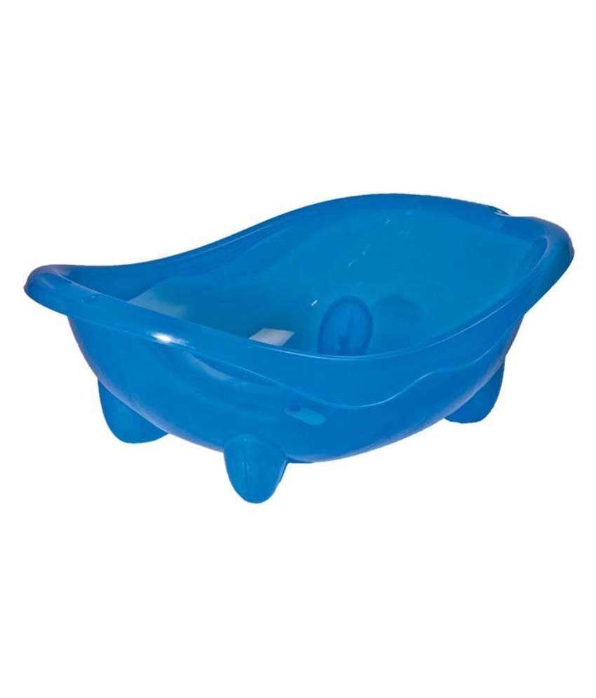 Mee Mee Blue Baby Bath Tub: Buy Mee Mee Blue Baby Bath Tub at Best ...