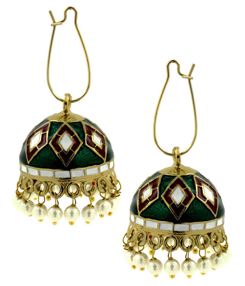 The Jewelbox Multicolour Designer Earring