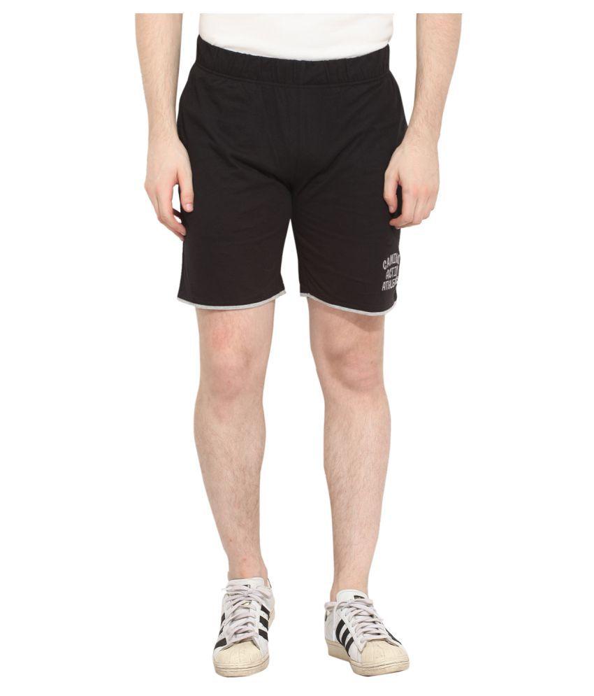 Camino Black Shorts