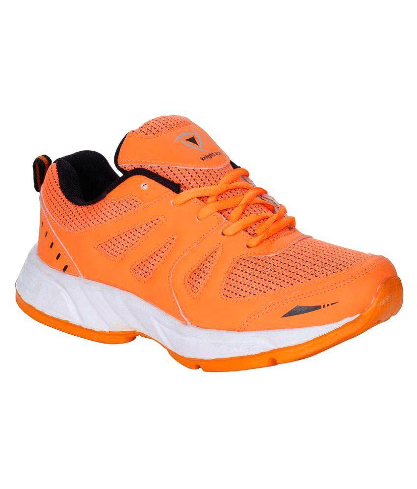 Kraasa Orange Running Shoes