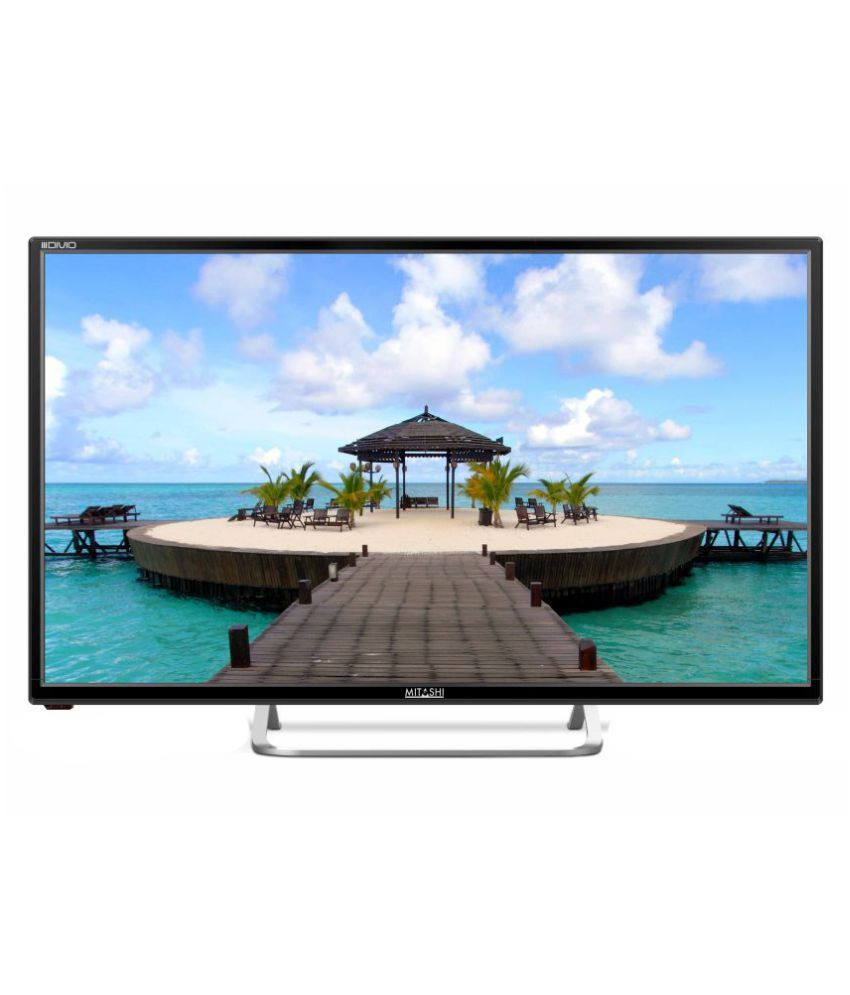 Mitashi MIDE032V24i  80 cm (31.5) HD Ready LED Television with 1 + 2 years extended warranty