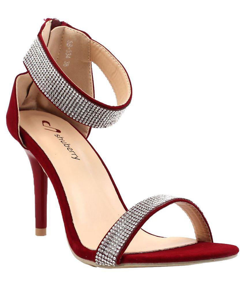Shuberry Red Stiletto Heels