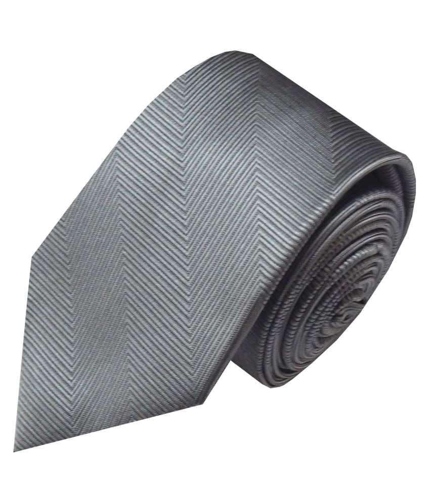 Navaksha Silver Formal Necktie