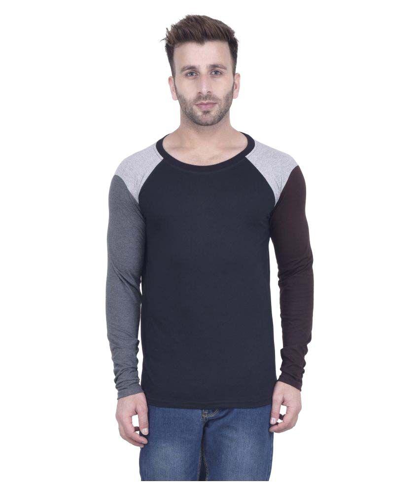 Kay Dee Creations Black Round T-Shirt