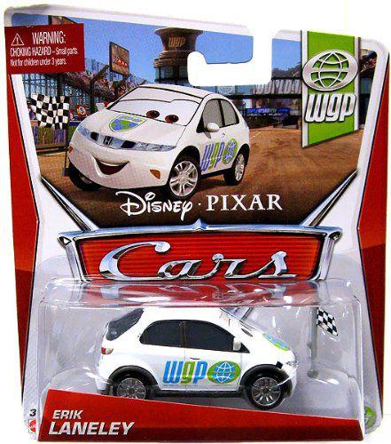 Cars 2 Wgp Erik Laneley 1 55 Scale Die Cast Vehicle Price In India