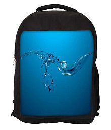 Snoogg Sky Blue Others Laptop Bags