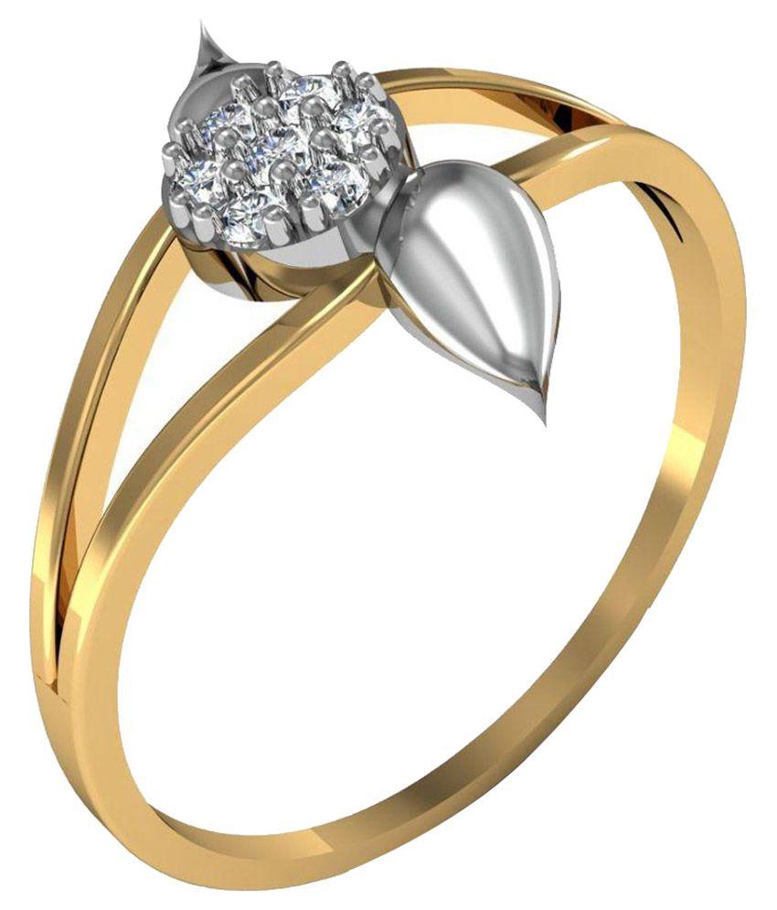 Avsar 14k Gold Ring