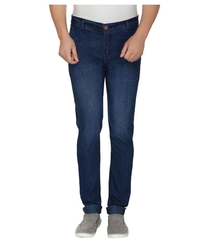 Frankline Blue Slim Fit Denim Jeans