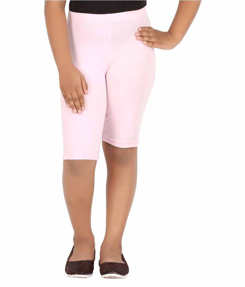 Knit ABC Pink Shorts