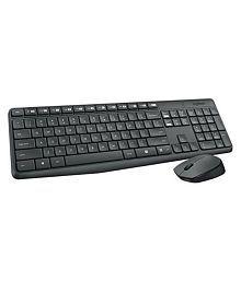 Logitech Mk235 Black Wireless Keyboard Mouse Combo