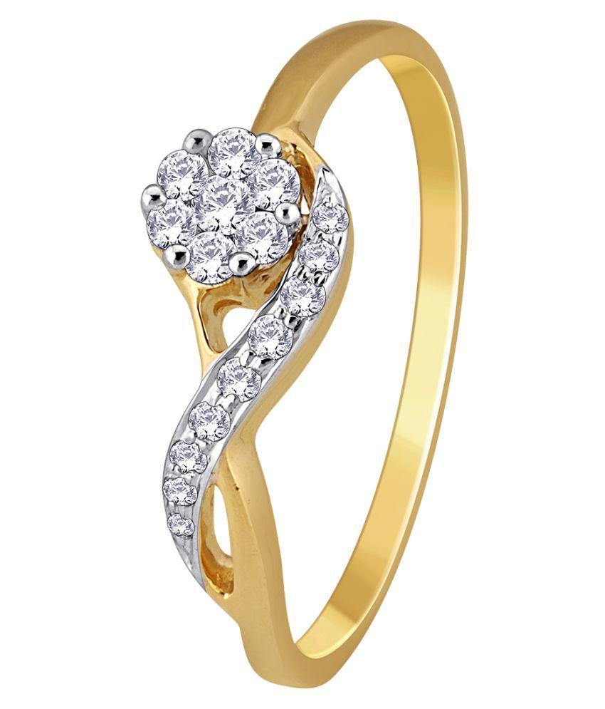 MyZevar 18k Gold Ring