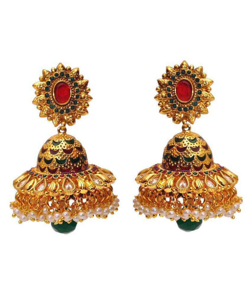 Yani Creation Multicolour Earrings