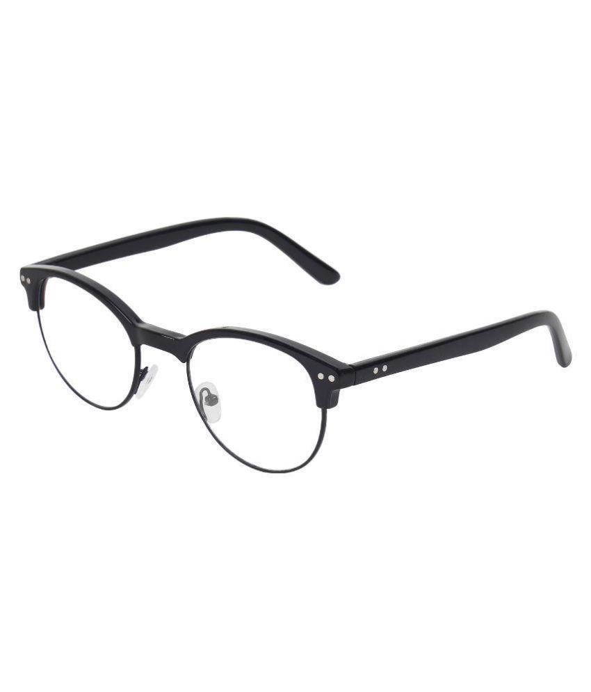 Zyaden Black Clubmaster Spectacle Frame FR258