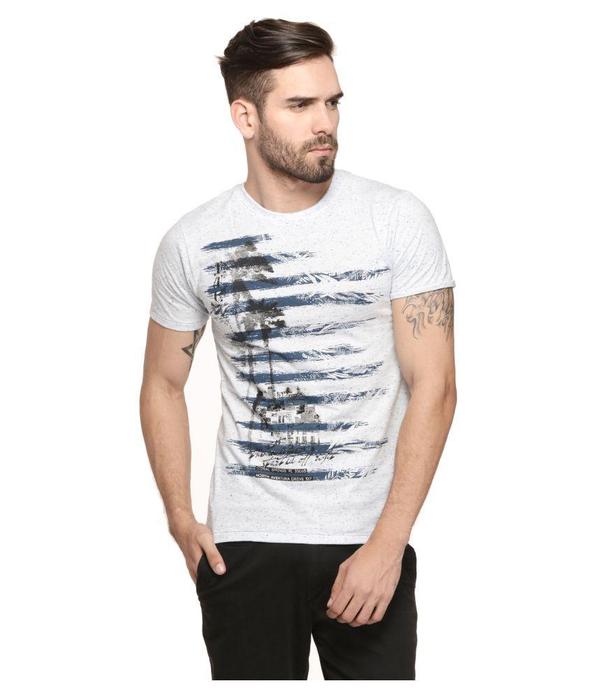 Mode Vetements White Round T-Shirt