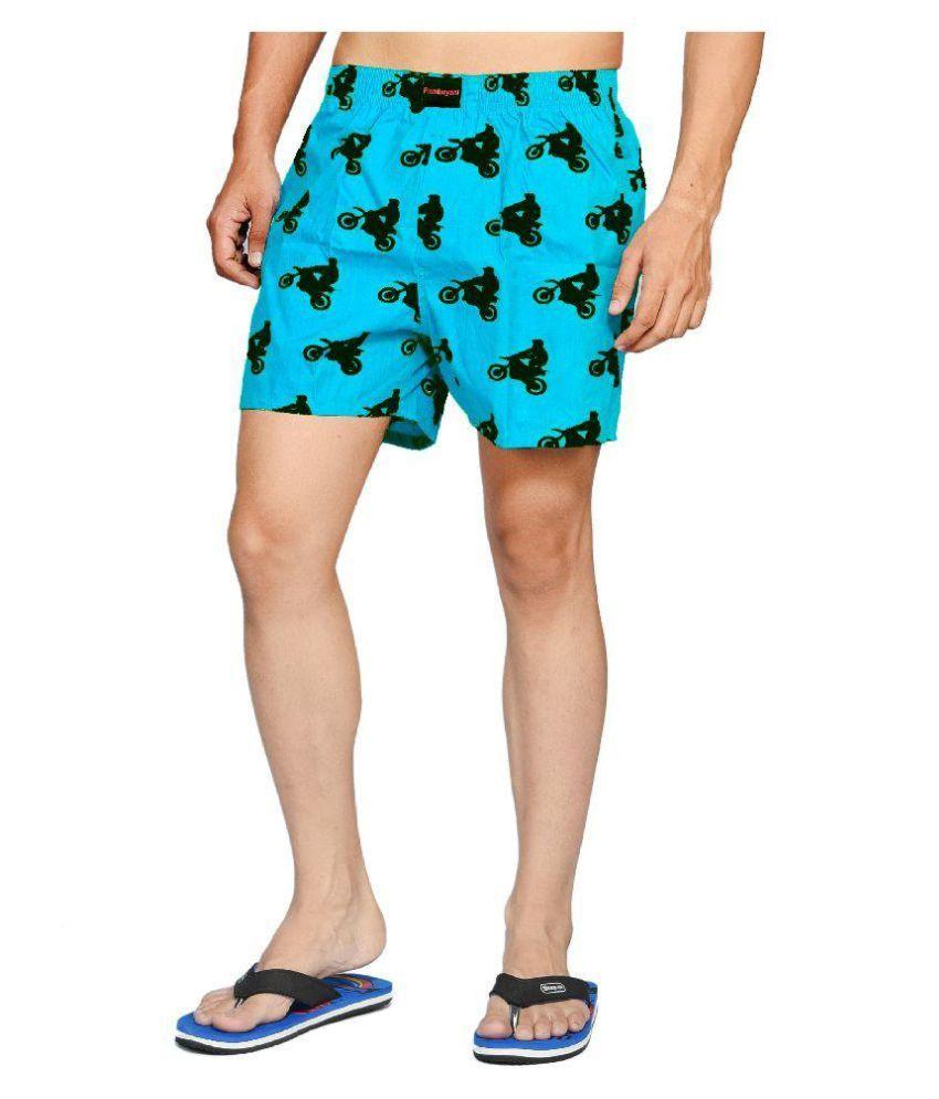Flamboyant Blue Shorts Single