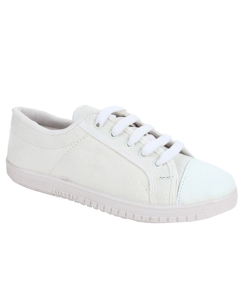 Footfun By Liberty Boy White School Shoes outlet tumblr V5KlKYDyg