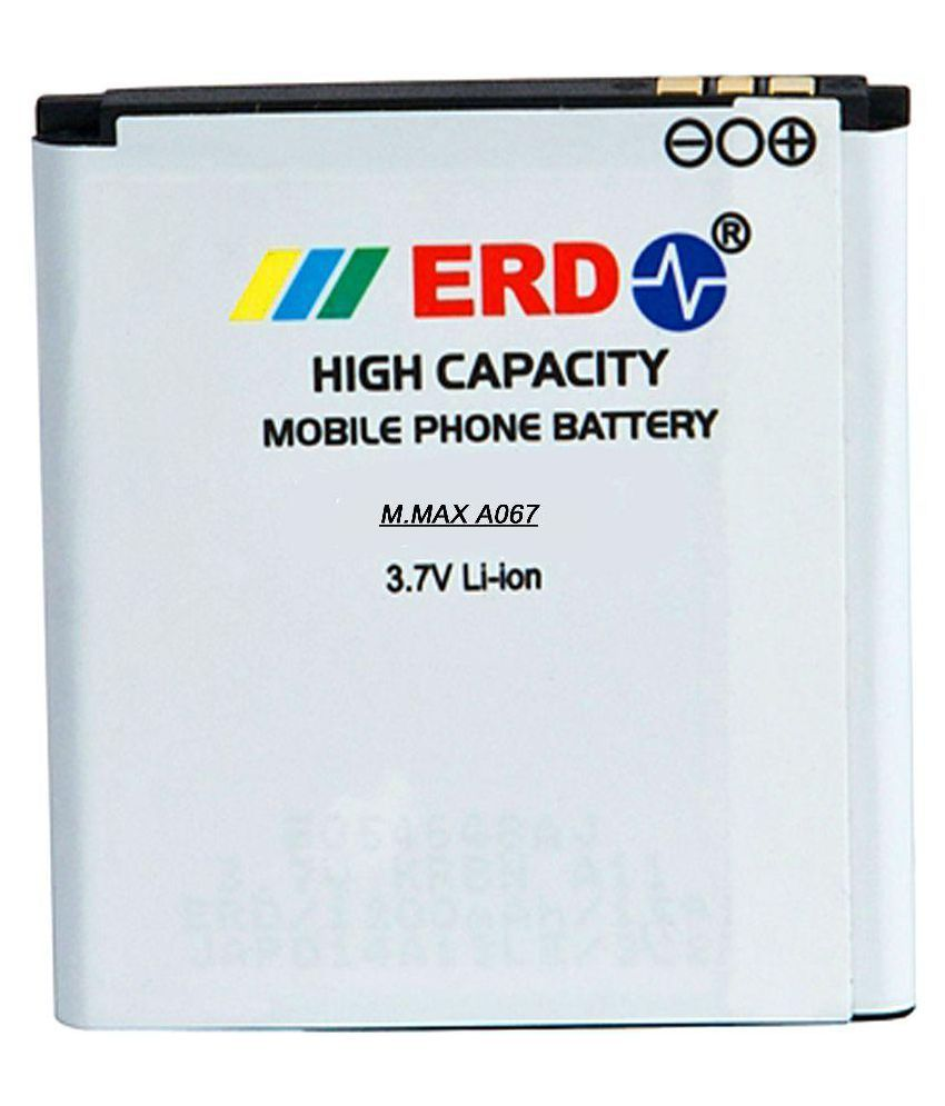 ERD 1200mAh Battery (For Micromax Bolt A067)