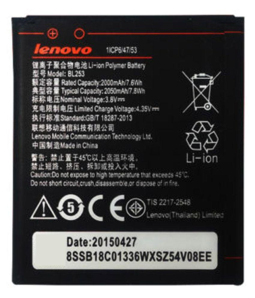 Lenovo-BL253-2000mAh-Battery-(For-A2010)