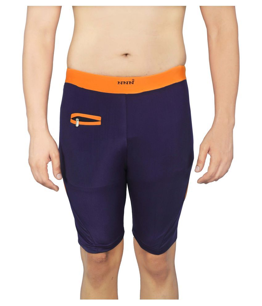 NNN Purple Swimming Shorts