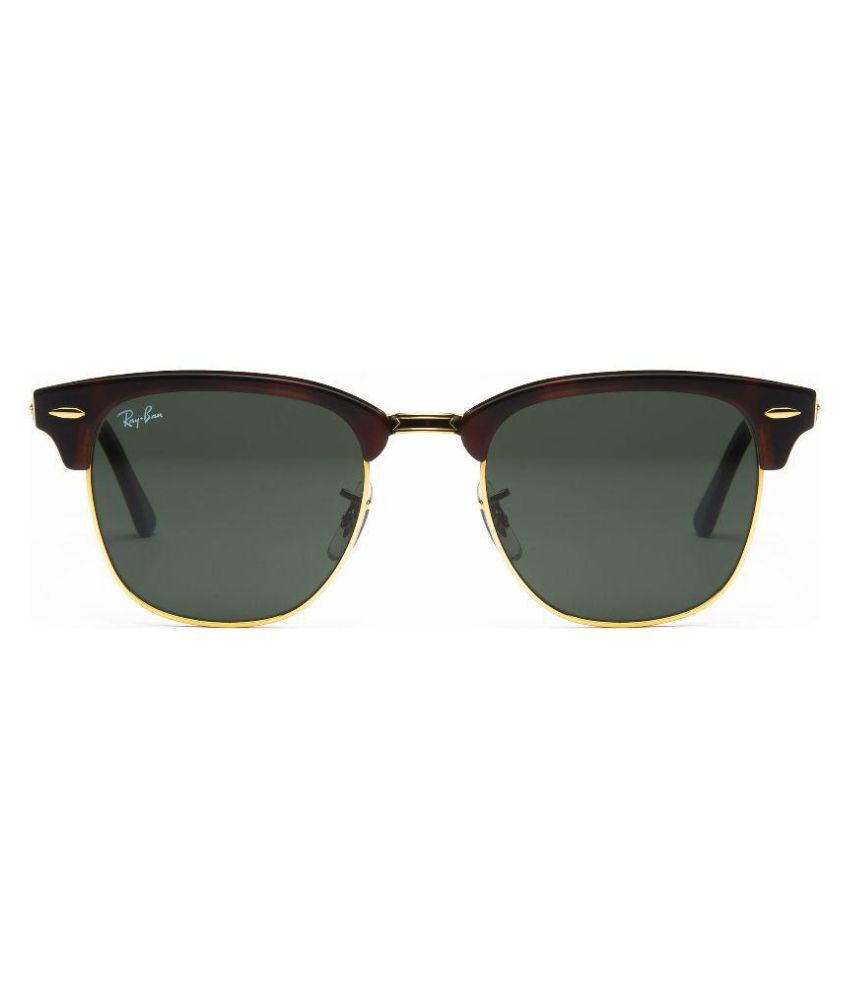 price ray ban sunglasses  Ray-Ban Green Clubmaster Sunglasses ( RB3016 W0366 ) - Buy Ray-Ban ...