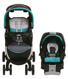 Graco Fast Action Fold Classic Connect-Dolce Stroller with Car Seat/Carry Cot