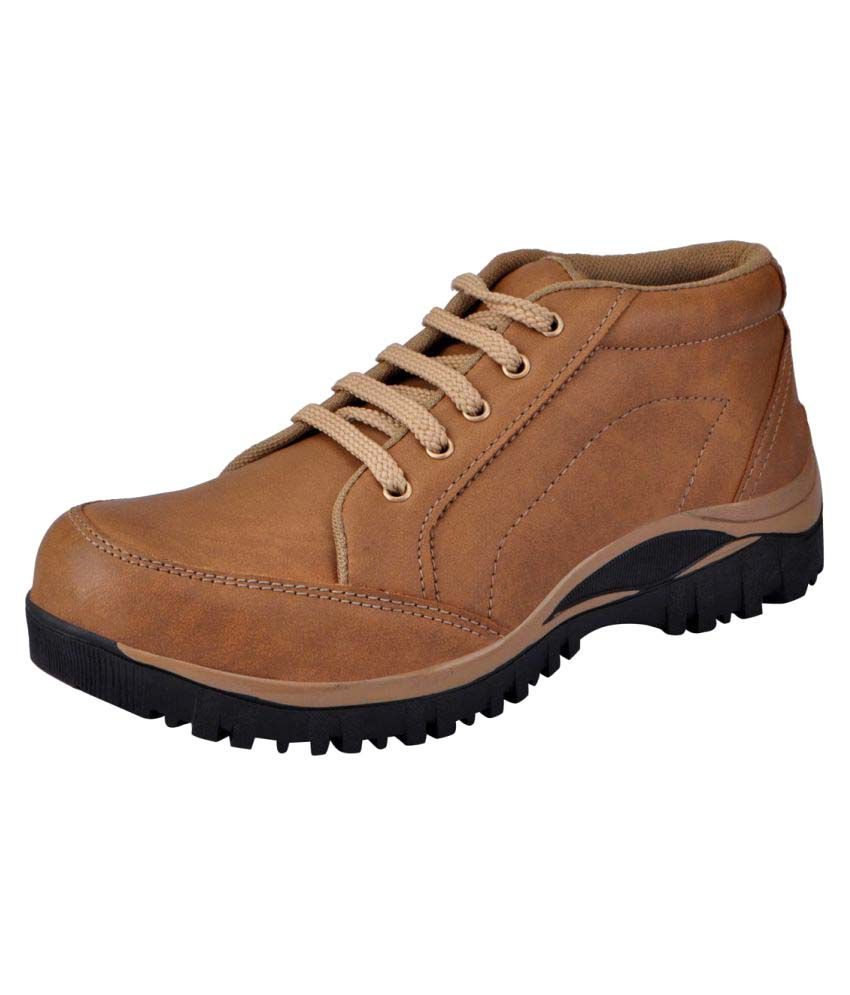 Fausto Beige Casual Boot