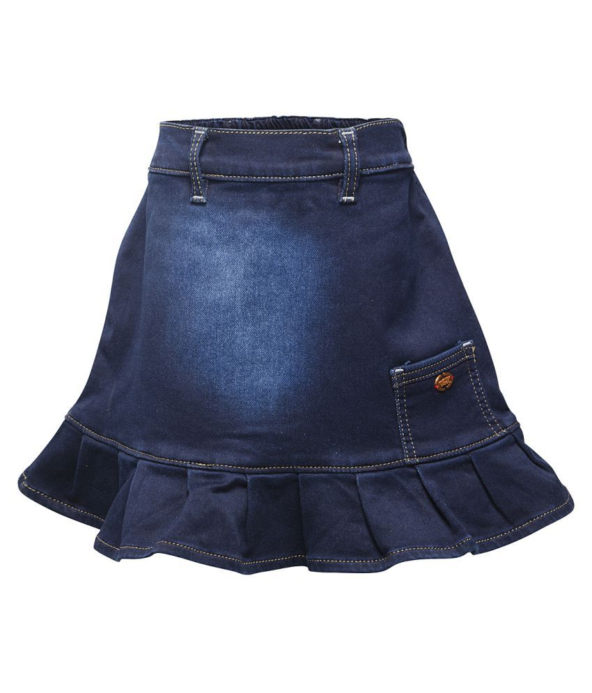 Western Basics Blue Denim Shorts