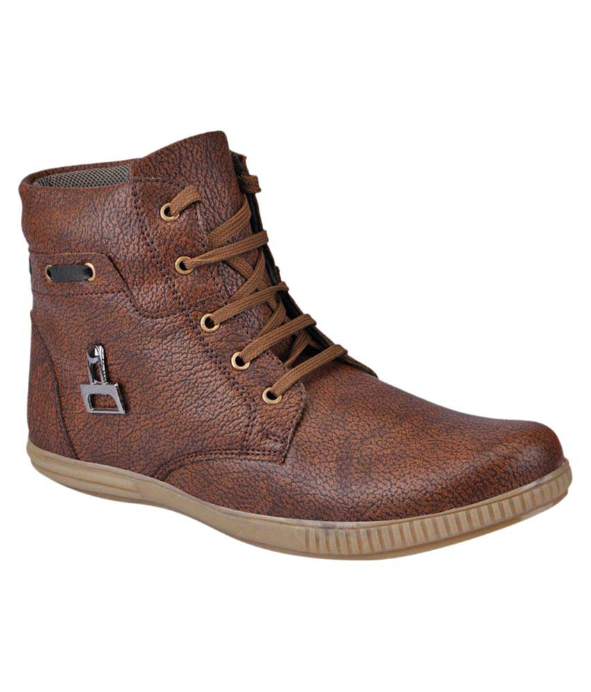 Fausto Brown Casual Boot
