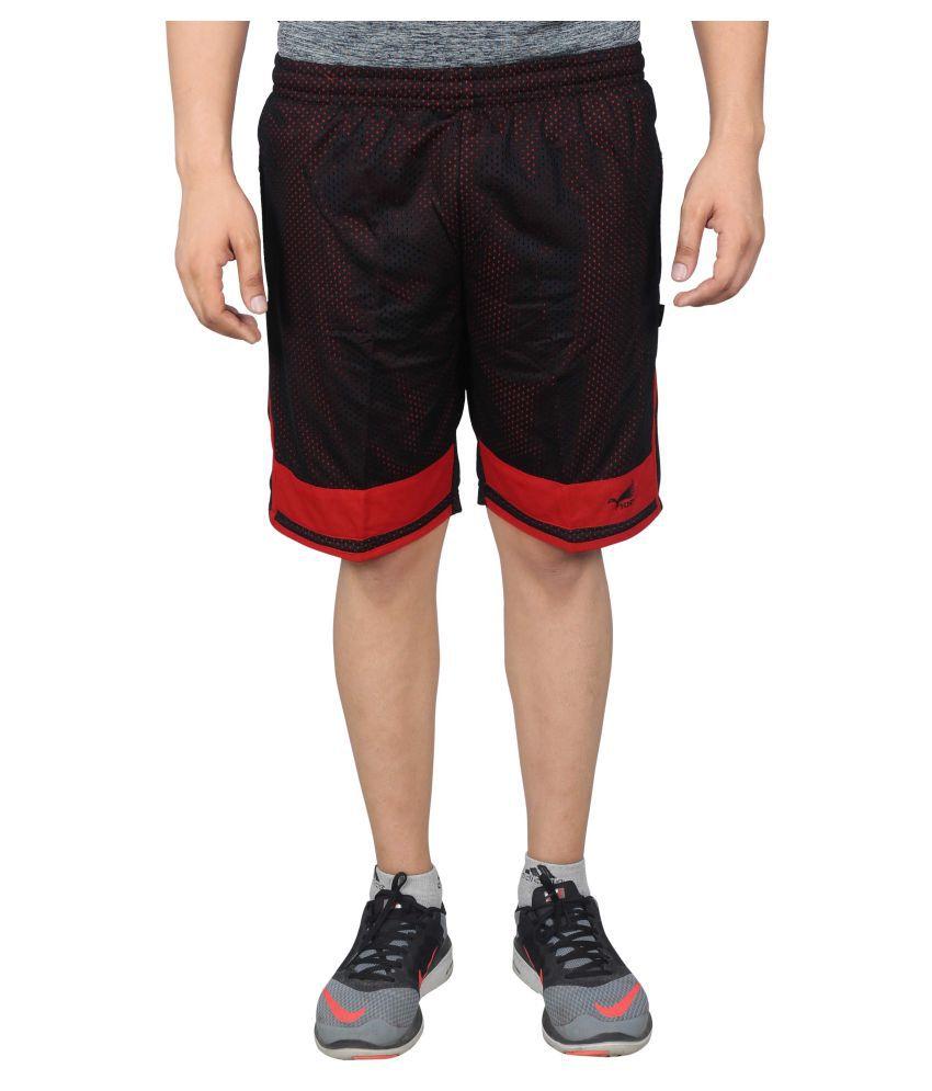 NNN Multicoloured Polyester Shorts for Men