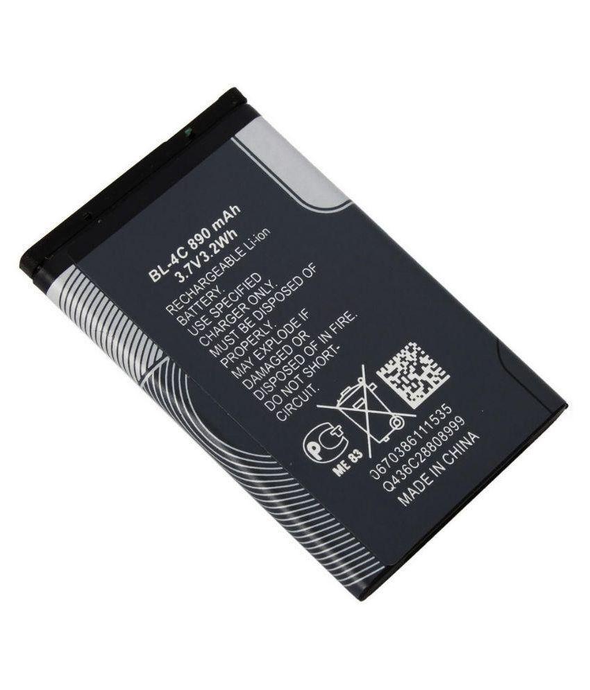 Nokia BL-4C 890 mAh Battery For Nokia 108, 6300, 1202 ...