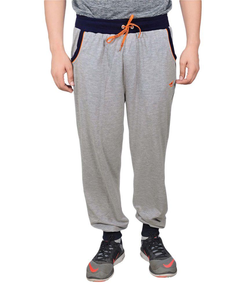 NNN Grey Cotton Trackpants