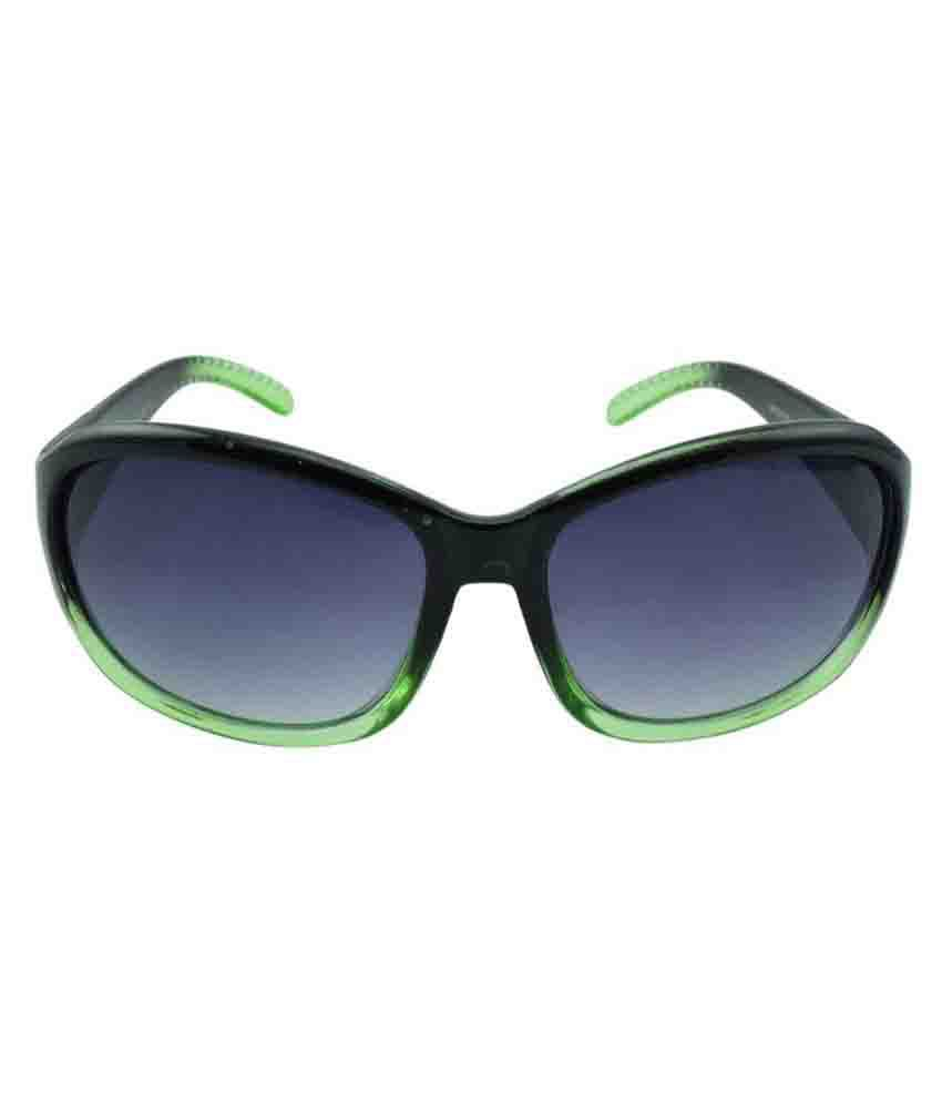 Polo House USA Black Oval Sunglasses ( MischiefW2102blackgr )