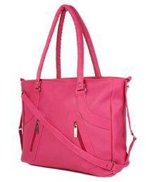 Bellina Pink P.u. Shoulder Bag