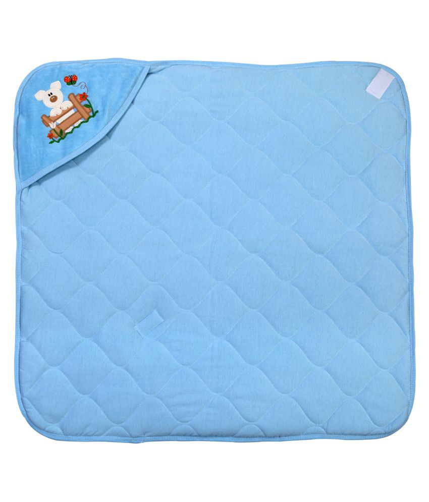 Brim Hugs & Cuddles Blue Baby Wrapper Baby Blanket/Baby Swaddle/Baby Sleeping Bag