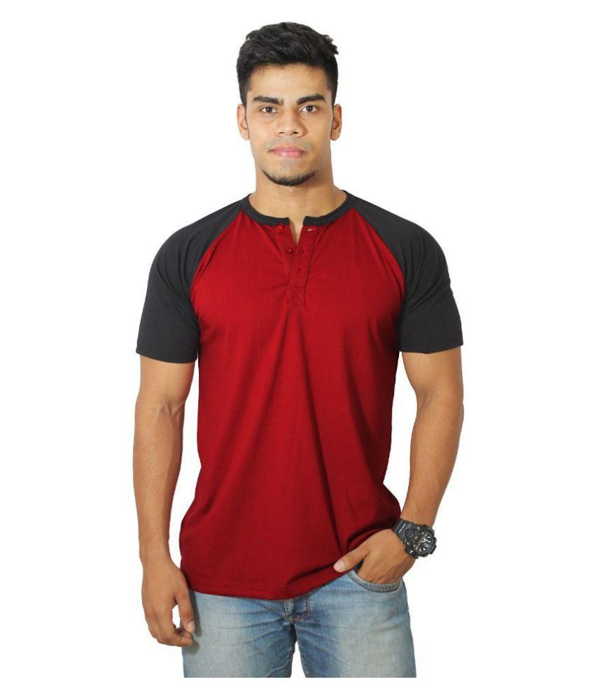 Risess Red Round T-Shirt