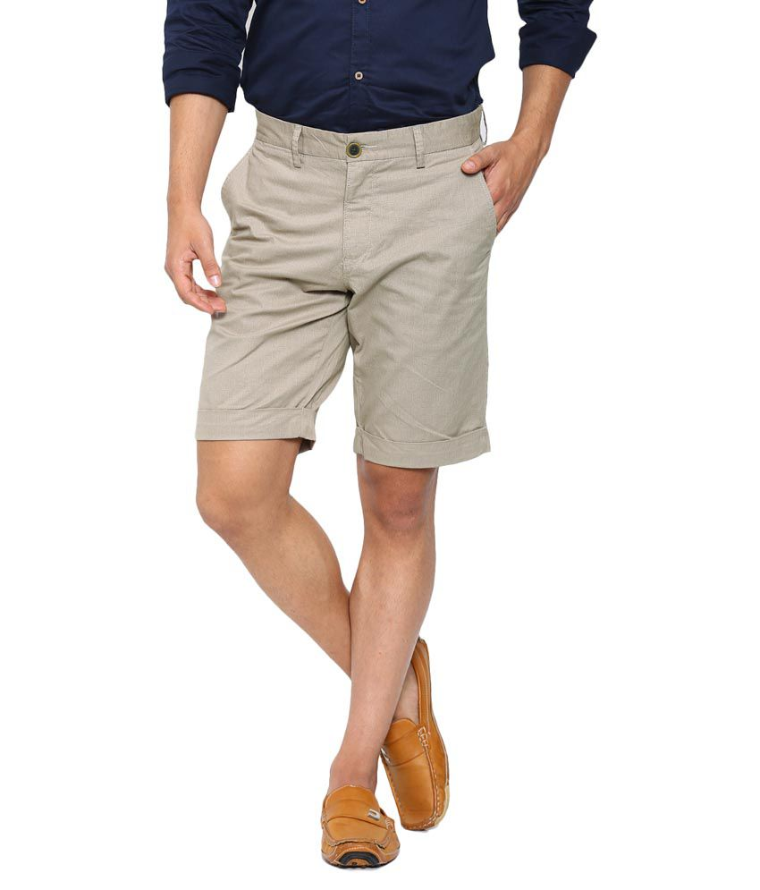 Showoff Beige Shorts Single