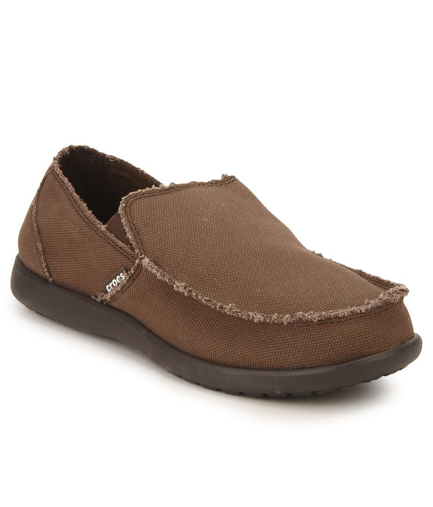 Crocs Brown Loafers