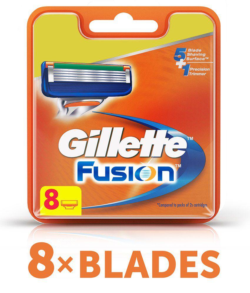 Gillette Fusion 8's Shaving Cartridges
