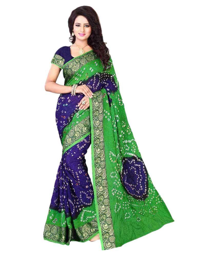 Glamour Fashion Multicoloured Cotton Silk Saree