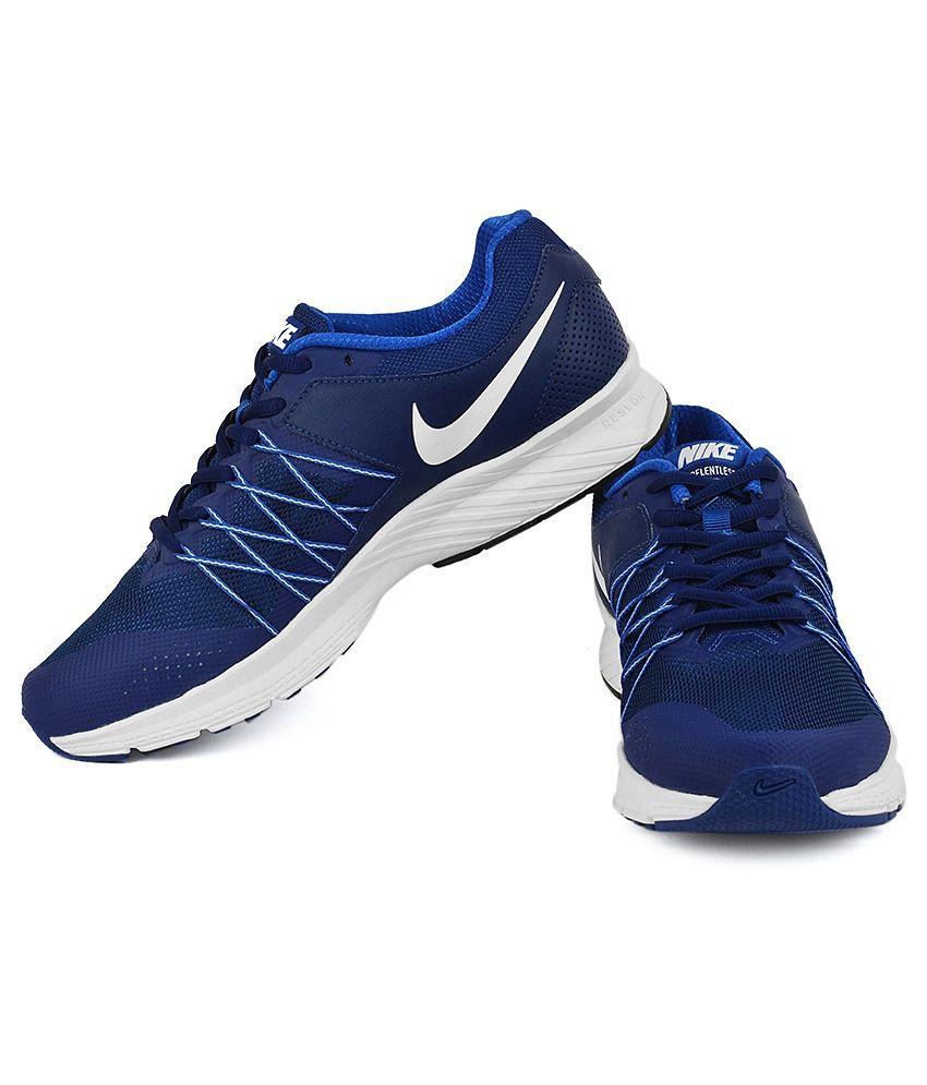 buy popular 28e87 08ff9 Nike 843881-400 Blue Running Sports Shoes Art N843881400