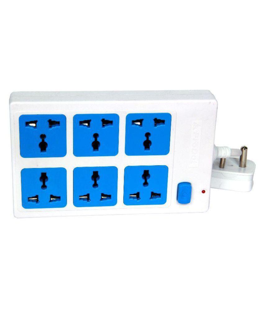 ProDot 6 Socket Surge Protector (2.5 Mtr)